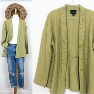 Cynthia Rowley • Wool Sweater Coat • 2X
